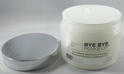 it Cosmetics BYE BYE MAKEUP 3 in 1 Makeup Melting Cleansing Balm 2.82 oz no box