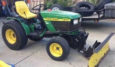 John Deere 4100 Compact Utility Tractor Service Technical Manual Tm1630 Pdf
