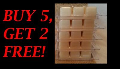Soy Wax Clamshell Break Away Tart Melt Wickless Candle - (BUY 5 GET 2 FREE) #1