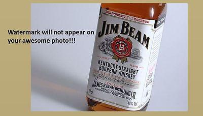 Jim Beam Bourbon Whiskey PHOTO Art Print Decor Bottle Ad Sign Kentucky