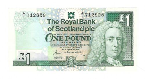 Scotland - 1987, One (1) Pound
