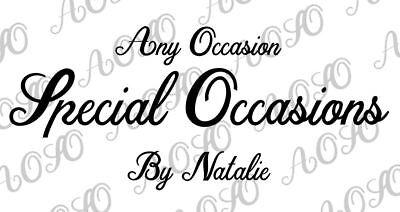 Special Occasions Bespoke Vinyl P&N