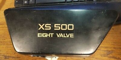 <em>YAMAHA</em> XS500 EIGHT VALVE USED LEFT SIDE COVER