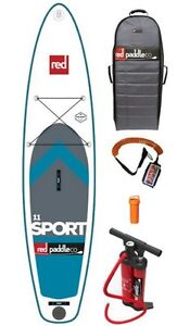 11' Red Paddle Co Inflatable SUP Paddle Board