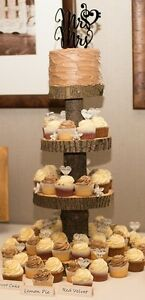 Rustic Cupcake Stand/ Wedding Decor Cambridge Kitchener Area image 1