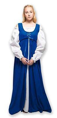 Plus Size Ren Faire Dress 2 Piece Medieval Renaissance Outfit LARP Costume Gown  - Renaissance Faire Costumes Plus Size