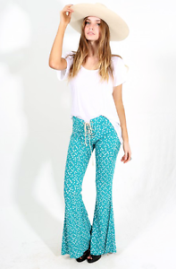 Lenni The Label • Jimmi Pant Stardust Teal • Size 10 Port Macquarie Port Macquarie City Preview