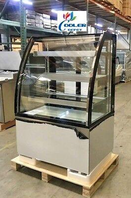 New 36 Bakery Deli Refrigerator Model Arc-271y Cooler Case Display Fridge Nsf