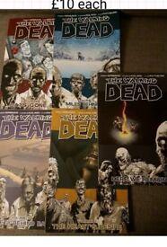 walking dead paperback books
