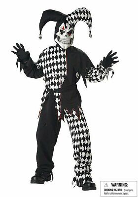 California Costumes Collections 00217 Child Evil Jester - Evil Jester Kids Costume