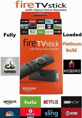 Amazon Fire TV Stick Jailbroken w/  16.1 Fully Loaded w Movies, PPV, Tv, Sports