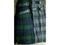 Brand new kilts great quality limited size be quick