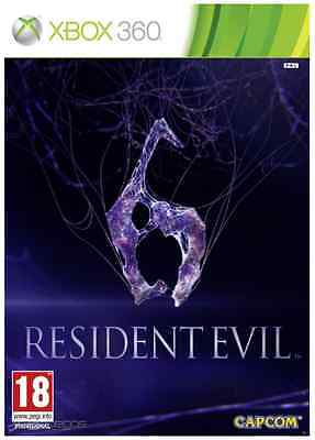 Xbox 360 - Resident Evil 6 (2 Discs) **New & Sealed** Official PAL Stock