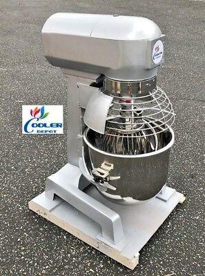 New 20 Quart Commercial Mixer Machine 3 Speed Bakery Kitchen Equipment Mx20 110v