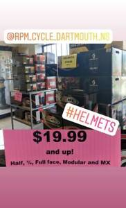Helmet Sale $19.99 and up RPM Cycle Motorcycle ATV Snow
