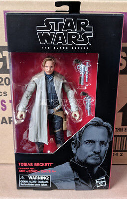 Star Wars The Black Series Tobias Beckett Solo 6  Action Figure Mib Ships 8 21