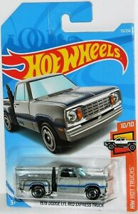 Hot Wheels 1/64 1978 Dodge Li'l Red Express Truck Diecast Silver