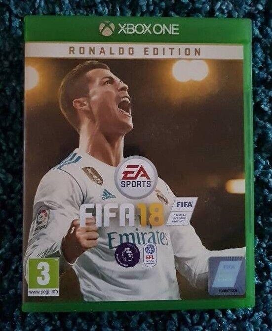 FIFA 18 XBOX ONE DISC