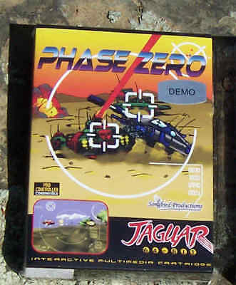 Phase Zero Atari Jaguar Cartridge IN Box NEW!!!!