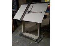 Large Kuhlmann Drawing Board, Elite Neolt ITALY, Drafting Table