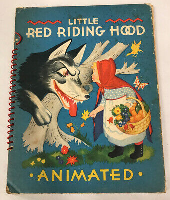Little Red Riding Hood Kids (Little Red Riding Hood Animated Children's Book,)
