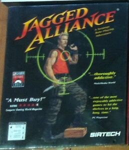 Jagged Alliance 1 (PC, 1996) NEW Sealed In Big Box Rare