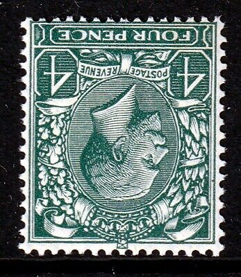 SG424Wi 4d Grey Green Inverted W/M UNMOUNTED MINT(338)
