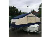 Conway challenger 4/6 berth trailer tent 2005 year in good order