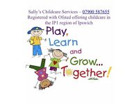 Ofsted registered Childminder IP1 - Spaces Available