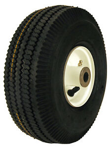 REPL TORO 105-3471 TIME CUTTER WHEEL AND TIRE ASSEMBLY 4.10 3.50 4 3/4 ID R13337