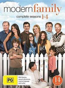 MODERN FAMILY SEASONS 1 2 3 4 : NEW DVD