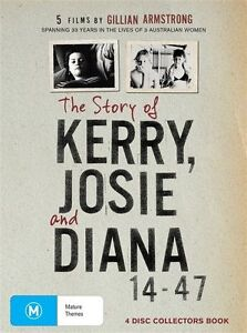 The Story Of Kerry, Josie & Diana - 5 Films By Gillian Armstrong (DVD, 2010,