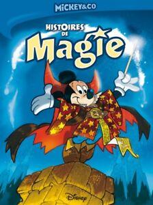 Livre mickey disney BD histoire de magie enfant lecture biblio