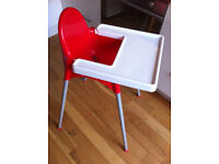 Antilop highchair with removable tray