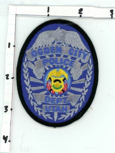 OGDEN CITY POLICE UTAH UT NEW COLORFUL PATCH SHERIFF STYLE 1