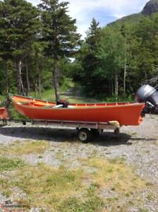 BOAT TRAILER, Galvanized, made by Western Steel, Corner Brook