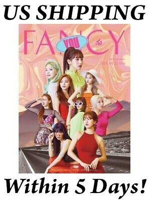 US SHIPPING Twice FANCY YOU Album A Ver. CD+Book+Card+etc
