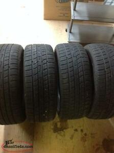 4 used summer tires El Dorado, P205/55R16