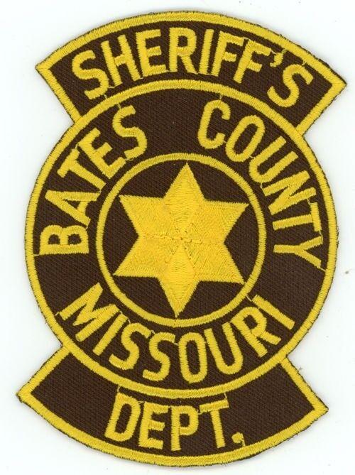 BATES COUNTY SHERIFF MISSOURI MO PATCH POLICE