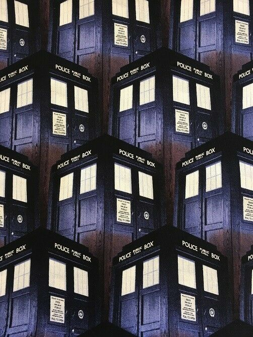 57138 POLICE BOX DR WHO SPRINGS CREATIVE PATCHWORK//CRAFT FABRIC