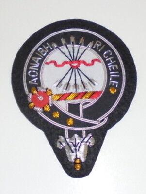 UK Royal Scottish Scotland Clan Cameron Heraldry Crest Family Name COA Patch MC