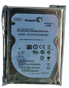 Brand New Seagate 2.5' Momentus ST9500423AS 7200 RPM SATA 500 GB Hard Drive