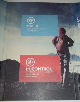 Truvy TruVision Health TruControl TruFix 30 Ct 7.5 Day 1-Wk Healthy Weight Loss
