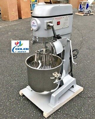 New 30 Quart Mixer Machine 3 Speed Bakery Kitchen Equipment Mx30 Food Dough Mix