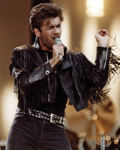 English Singer GEORGE MICHAEL Glossy 8x10 Photo Rock Print WHAM Poster