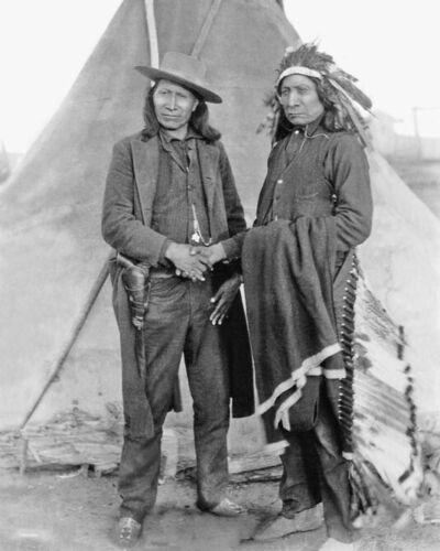 Native Americans CHIEF AMERICAN HORSE and RED CLOUD 8x10 Photo Oglala Lakota