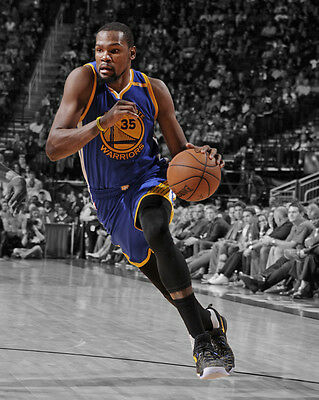 Golden State Warriors Kevin Durant Glossy 8X10 Photo Spotlight Print Poster