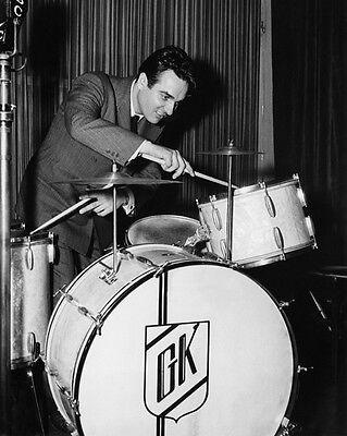 American Jazz Drummer GENE KRUPA Glossy 8x10 Photo Music Poster Print