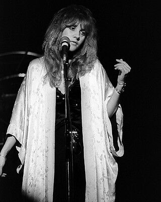Rock Band Stevie Nicks Glossy 8X10 Photo Music Poster Fleetwood Mac Print
