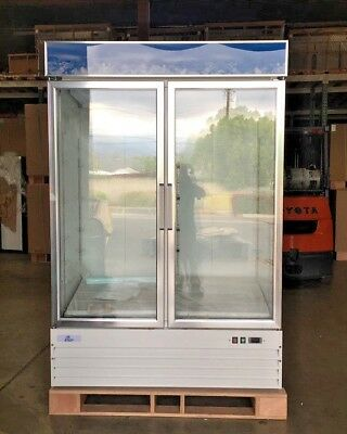 New 80 2 Commercial Refrigerator Display Beverage Cooler G1.2bm2f Nsf Etl